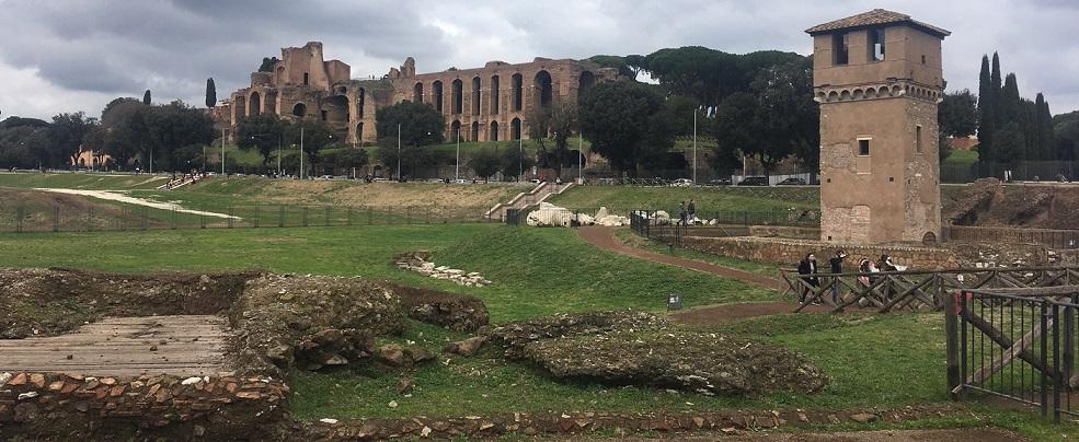 Tour dell'area archeologica del Circo Massimo, con la realtà virtuale