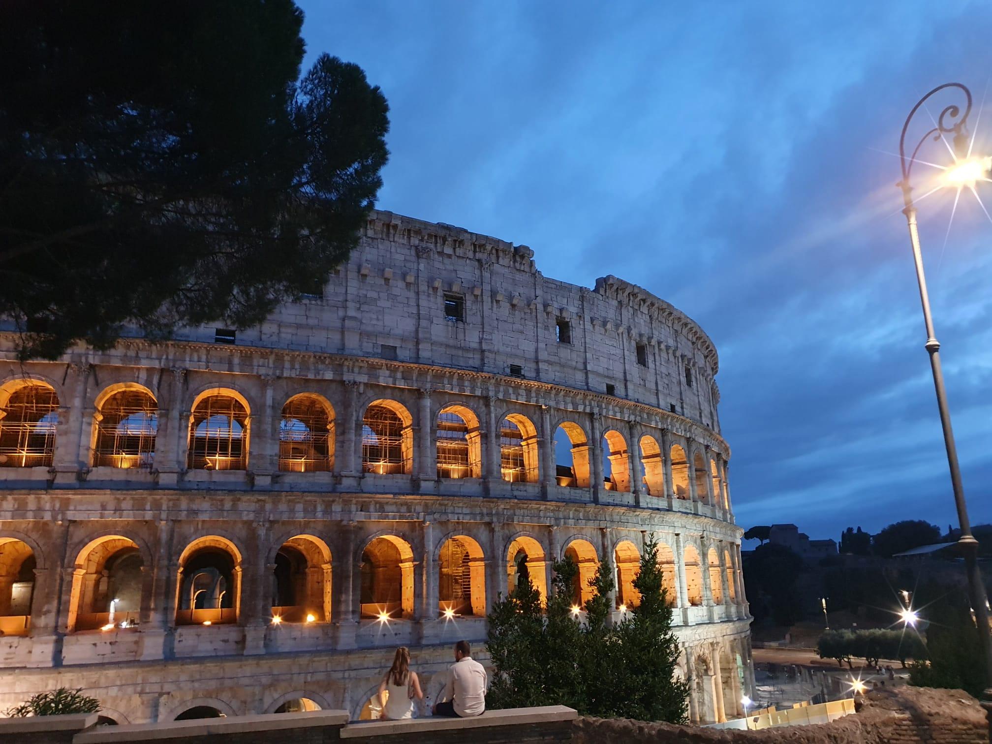 Visite guidate serali dei fori imperiali e del Colosseo