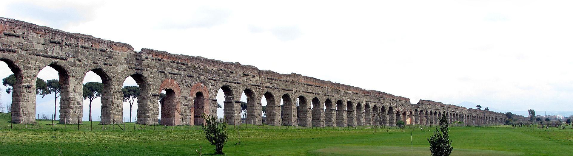 visita guidata al parco degli acquedotti a Roma