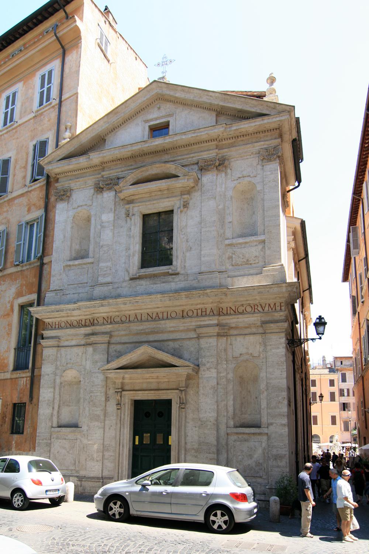 visita guidata alla chiesa di San Nicola dei Lorenesi a Roma