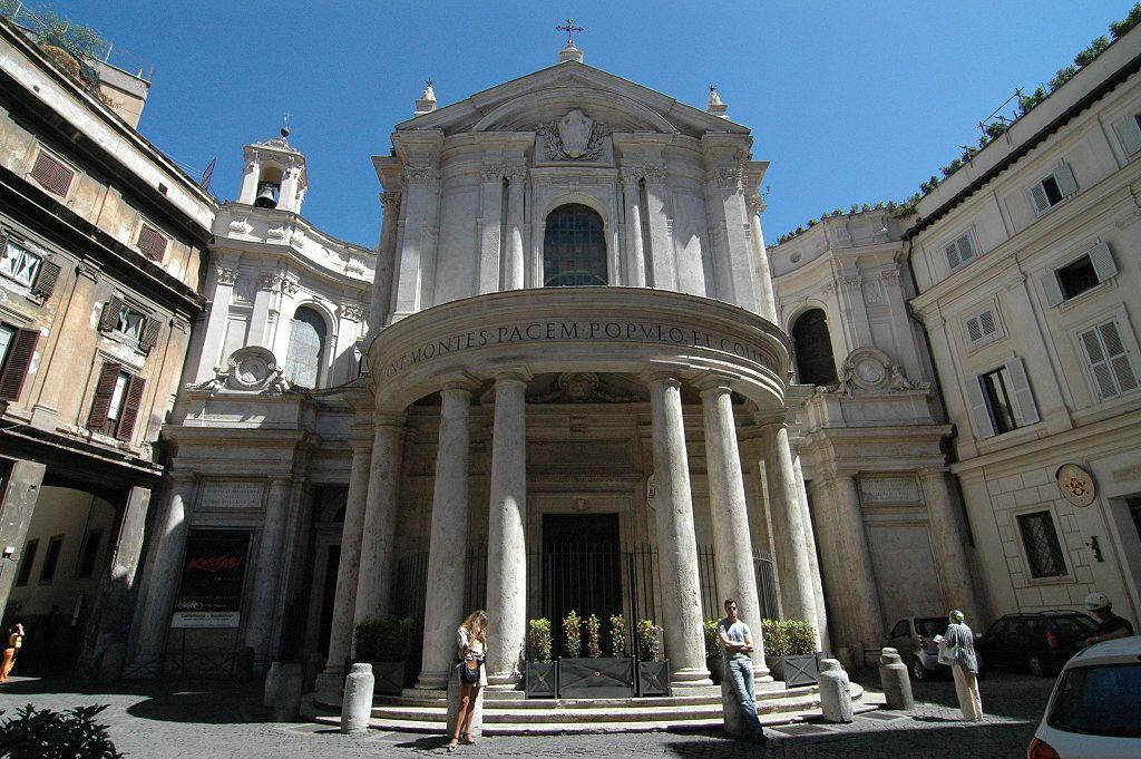chiesa di Santa Maria della Pace a Roma